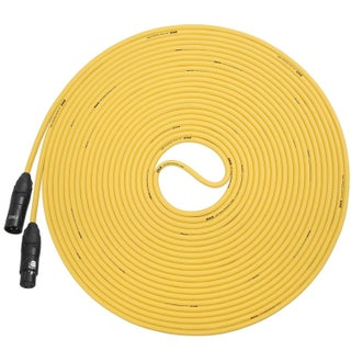 LyxPro Balanced XLR Cable 50 ft Premium Series Professional Microphone Cable, Powered Speakers and Other Pro Devices Cable