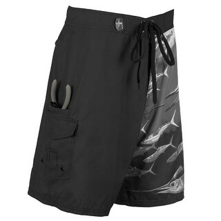 Guy Harvey Mens Twist of fate Boardshorts
