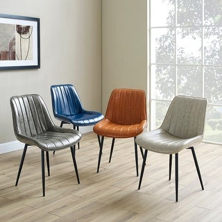 Carson Carrington Kalixfors Modern Upholstered Dining Chairs (Set of 2)