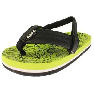 Reef Boys Flip-Flops Toddler Thong - 3/4 medium (d) https://ak1.ostkcdn.com/images/products/is/images/direct/11dd32ef34915609a2fa48bac04e88621e822662/Reef-Boys-Flip-Flops-Toddler-Thong.jpg?impolicy=medium