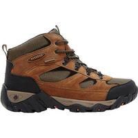 Nevados Men's Mesa Waterproof Mid Hiking Boot Brown/Orange/Black Suede
