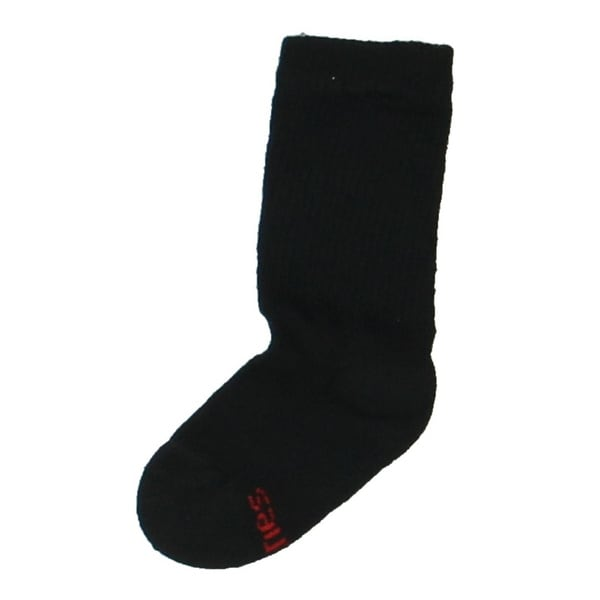 Hanes Boys Crew Socks 6PK Comfort Toe Seam - S