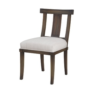 """GuildMaster 7011-265  Kosmo 20"""" Wide Wood Framed Fabric Accent Chair - Heritage Gray Stain"""