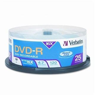 Verbatim VTM95058M VERBATIM 95058 4.7GB DVD-Rs (25-ct Spindle)