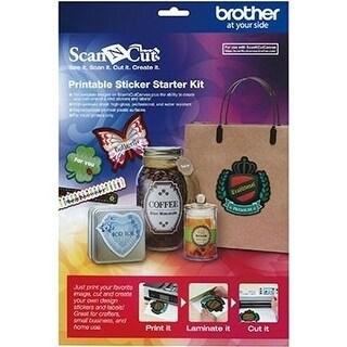 Brother CAPSKIT1 Brother Printable Sticker Starter Kit