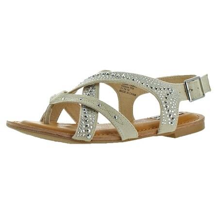 Not Rated Uniti Women's Faux Suede Sandal Shoe