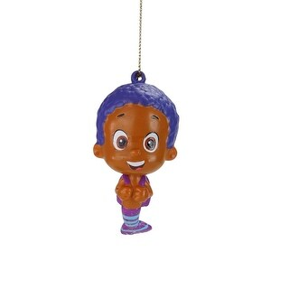 """3.5"""" """"Goby"""" Nickelodeon Bubble Guppies Character Christmas Ornament"""