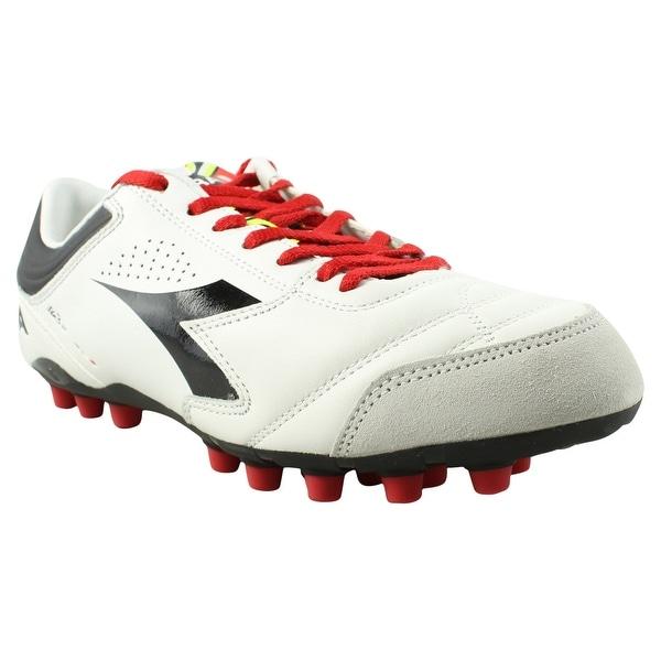 848e50516 Shop Diadora Mens Ita 3 White Black Soccer Cleats Size 8 - Free ...