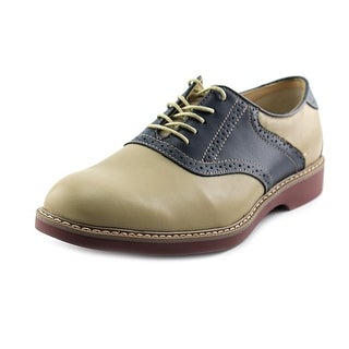Bass Pomona Men Round Toe Leather Oxford