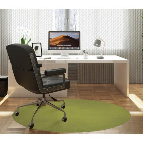 OMBRE OLIVE Office Mat By Marina Gutierrez
