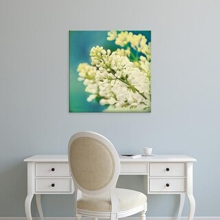 Easy Art Prints Sue Schlabach's 'Natures Lilac Blossom' Premium Canvas Art