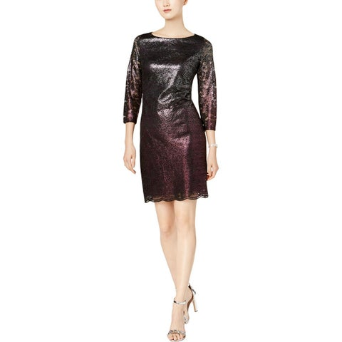 Jessica Howard Womens Party Dress Cocktail Lace