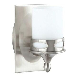 "Park Harbor PHVL2171 Hogue 8"" Tall Single Light Bathroom Fixture"