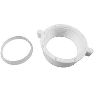 """Danco 86797 Slip Joint with Washer, Plastic, White, 1-1/2"""""""