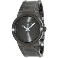 Nixon Men's Cannon  Grey Stainless-Steel Quartz Fashion Watch
