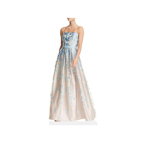 Eliza J Womens Formal Dress Embroidered Pleated