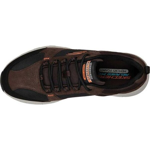 Shop Skechers Men's Relaxed Fit Oak Canyon Sneaker Chocolate