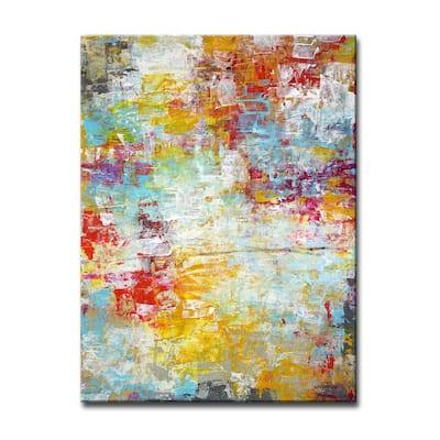 'Mardi Gras' Wrapped Canvas Wall Art by Norman Wyatt Jr.