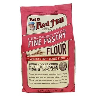 Bobs Red Mill 5 Lbs. Unbleached White Fine Pastry Flour