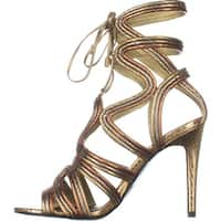 BCBGeneration Womens Jax Open Toe Special Occasion Strappy Sandals