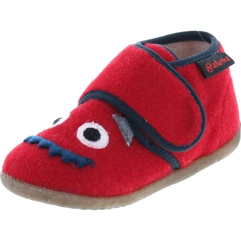 Naturino Kids Home Warm Casual Imported Slippers - Red