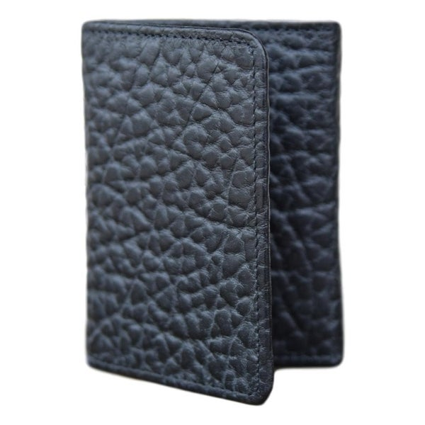 Vintage Bison Western Wallet Mens Phoenix Trifold Leather Black