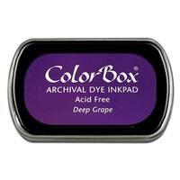 ColorBox Archival Dye Ink Pad Full Sz Deep Grape