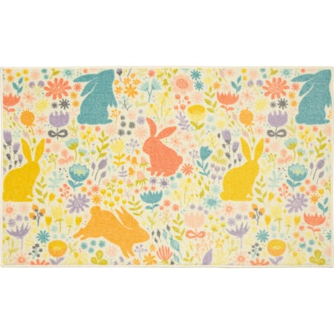 Mohawk Home Easter Silhouette Accent Rug
