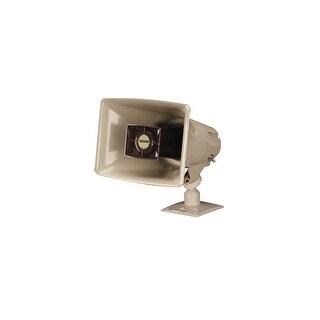 Valcom V-1030C 5-Watt Amplified Horn Megaphone - Beige