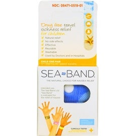 Sea-Band For Children Wristband (Colors May Vary) 1 Pair