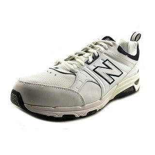 New Balance MX857 Round Toe Leather Cross Training