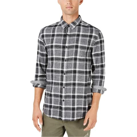 American Rag Mens Flannel Button Up Shirt