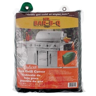 "Mr. Bar-B-Q 07002XEF Deluxe Gas Grill Cover, Large, 68""x21""x42"""