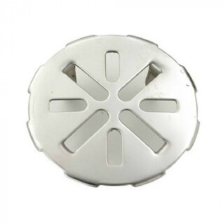 Master Plumber 828-845 Stainless Steel Snap In Drain Cover