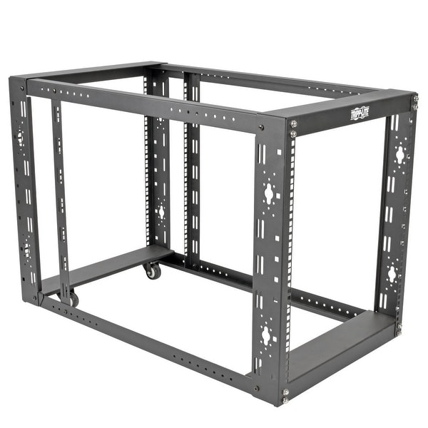 "Tripp Lite 12U 4-Post Open Frame Rack Server Cabinet Floor Standing 36"" Depth"