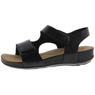 Romika Womens Fidschi 40 Slingback Sandals Leather Cushioned Footbed - 38 medium (b,m)