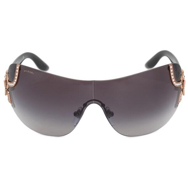 751651ede6 Shop Bvlgari Rimless Sunglasses BV6079B 376 8G 33 - Free Shipping ...