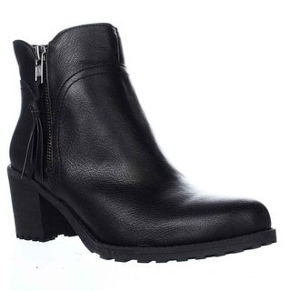 Aerosoles Convincing Lug Sole Ankle Boots, Black