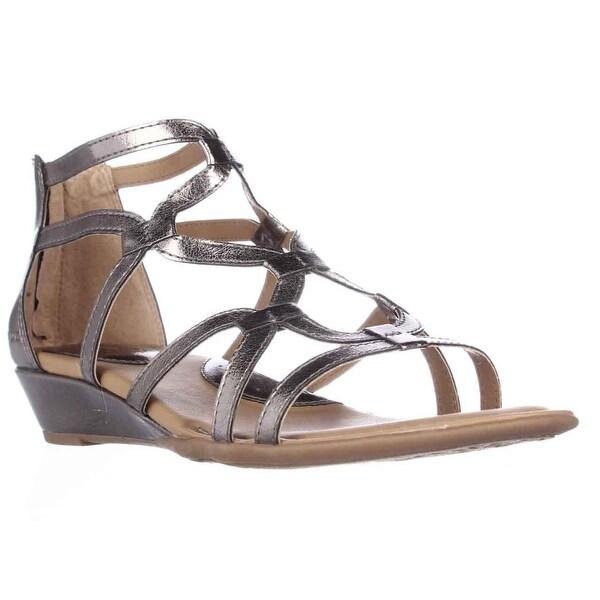 0e21fdaed063 Shop B.O.C. Born Concept Pawel Low Wedge Gladiator Sandals