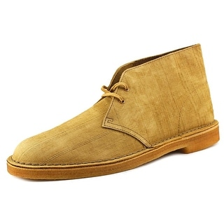 Clarks Originals Desert Boot Men Round Toe Suede Bronze Desert Boot
