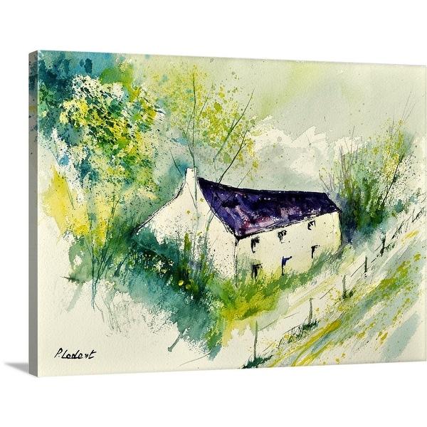 """Watercolor 014062"" Canvas Wall Art"
