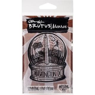 Brutus Monroe Clear Stamps 3X4-City Sidewalks-Washington Dc
