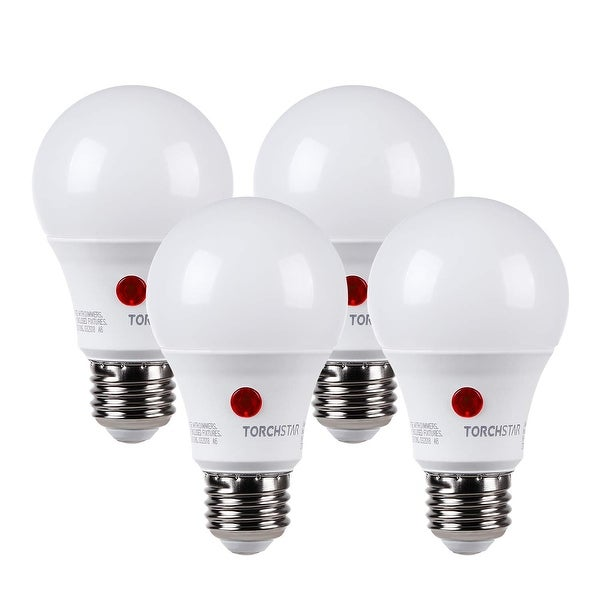 Shop 4 Pack Led 9w Dusk-to-dawn A19 Light Bulb  Photo Sensor - On Sale - Overstock