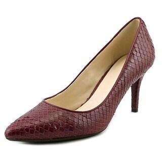 Cole Haan Prieta Pump II Pointed Toe Leather Heels