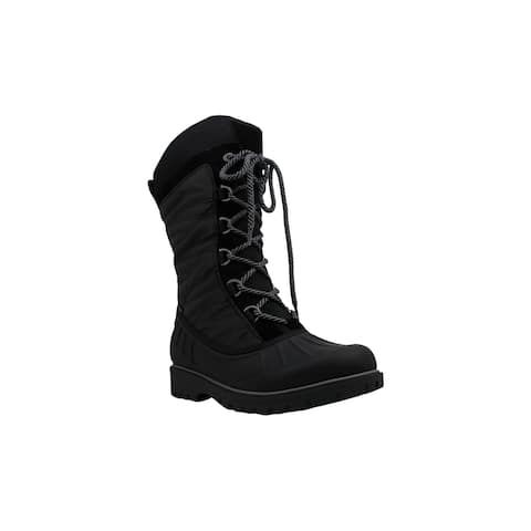 Bare Traps Womens Sybil Leather Closed Toe Mid-Calf Cold Weather Boots