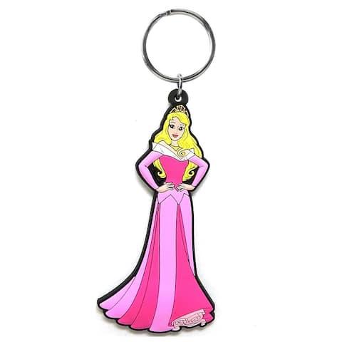 Disney Soft Touch PVC Key Ring Rapunzel - Multi