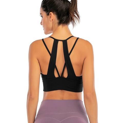 2020 New Women's Yoga Sports Bra
