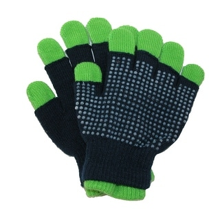 Grand Sierra Kids' 3 in 1 Stretch Gloves with Grips - One Size