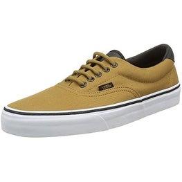 Vans Men's Era 59 (Military) Skate Shoes (14.5 US Women/13 US Men, BISTRE/WHITE)