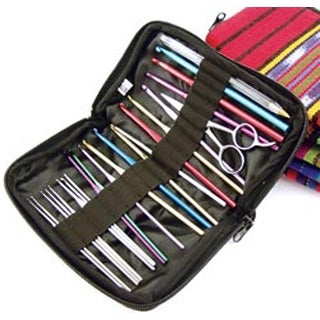 """4.5""""X7"""" Assorted Patterns - Ammee's Babies Totorganizer For Crochet Hooks"""
